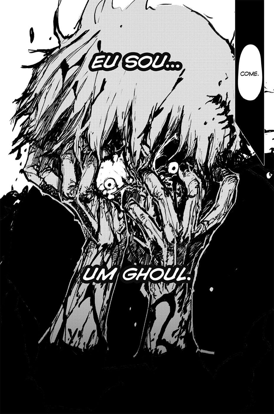 Kaneki é capturado em Tokyo Ghoul 7