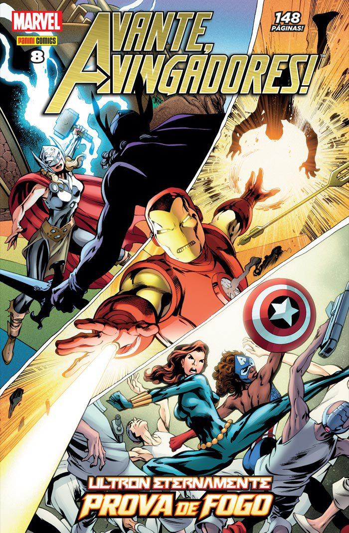 Avante, Vingadores! #8
