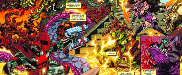 Deadpool está de volta em mais uma Marvel Especial, exactamente no ponto em que ficou no 1º volume desta colecção. […]