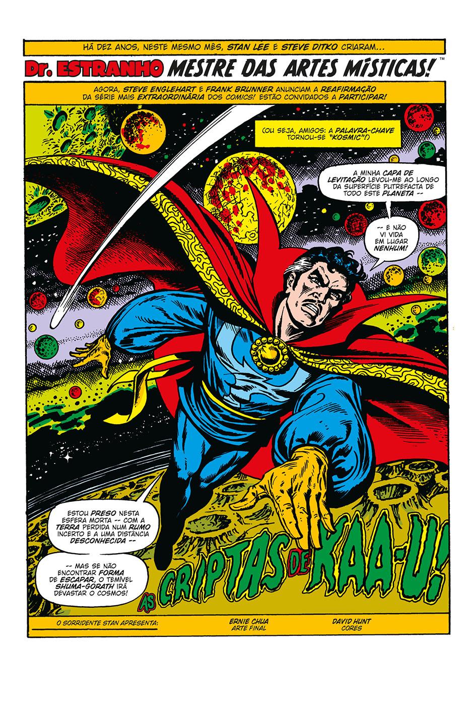 Graphic Novels 57 Dr Estranho-1
