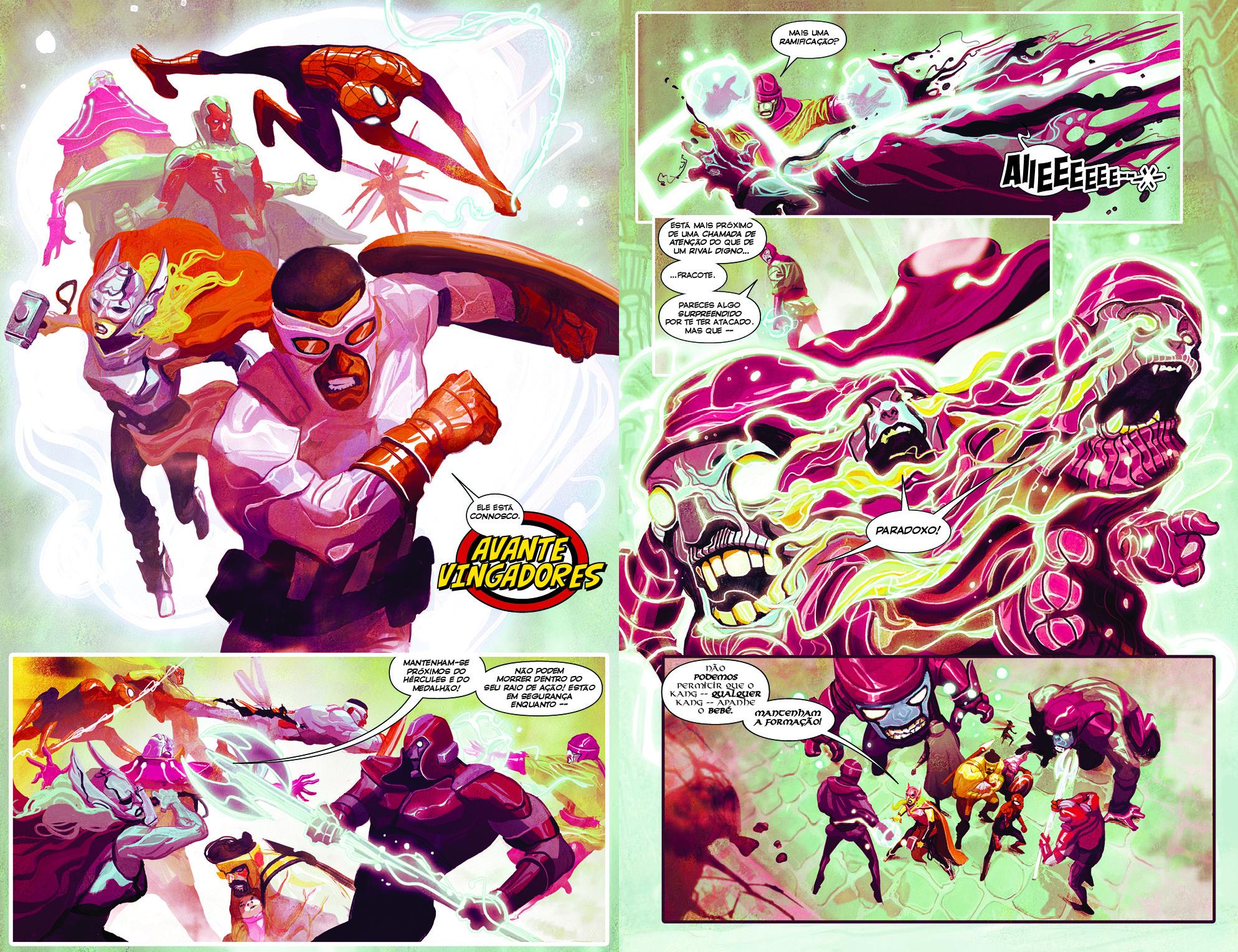 Os Vingadores #2 - páginas 20-21