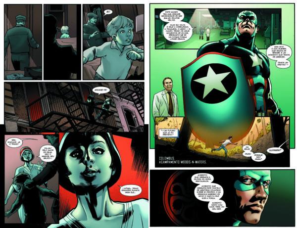 Os Vingadores #2 - páginas 74-75