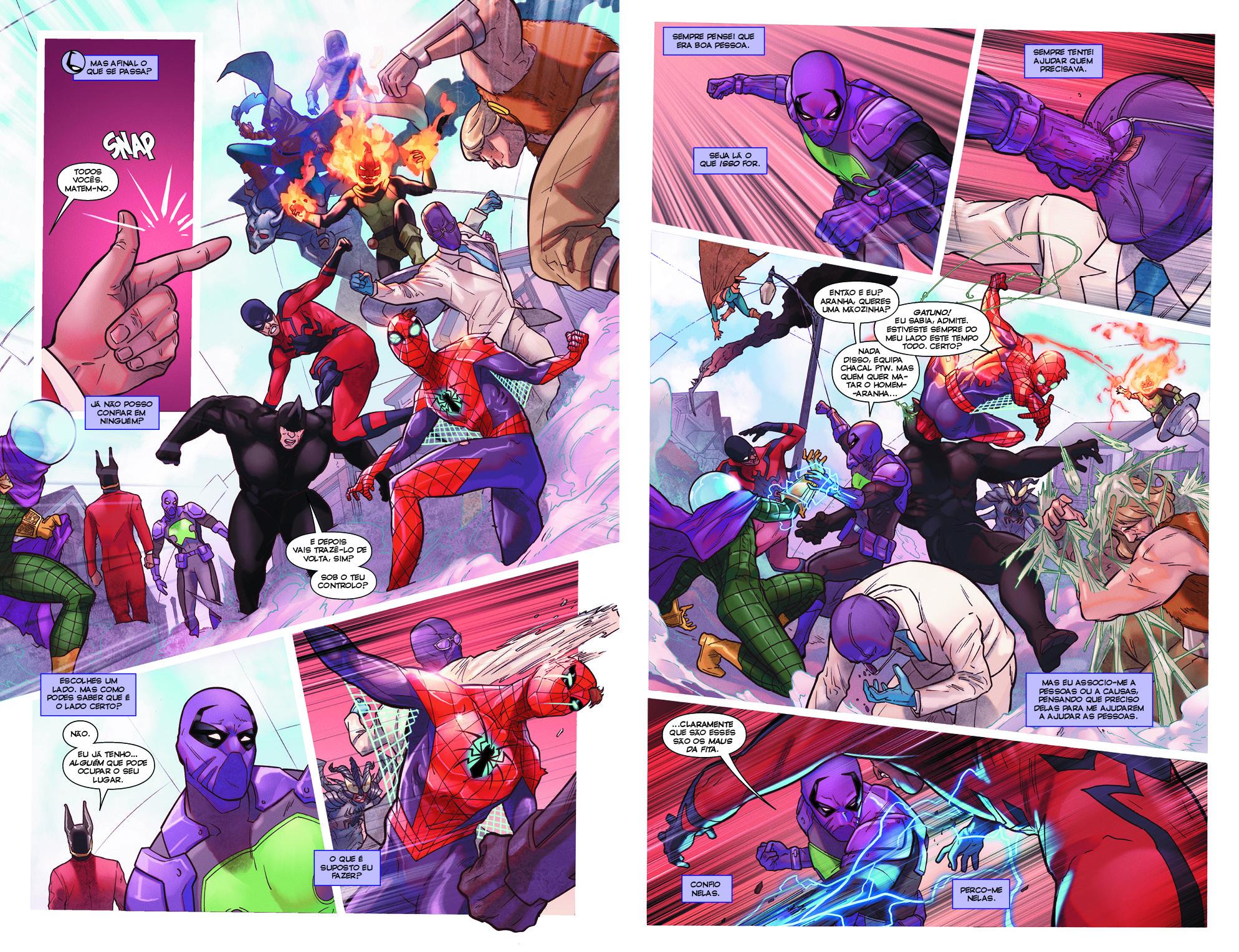 Homem-Aranha #3 (Série II) Páginas26-27