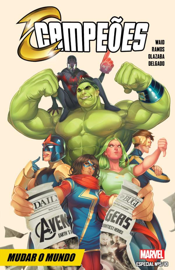 Marvel Especial #5 - Campões