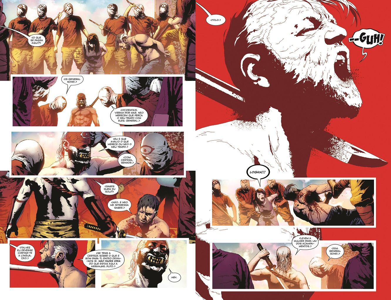 X-Men #4 (Série II) Páginas 120-121