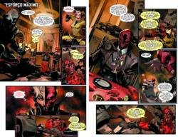 Os Vingadores Série II Vol.4 páginas 46-47