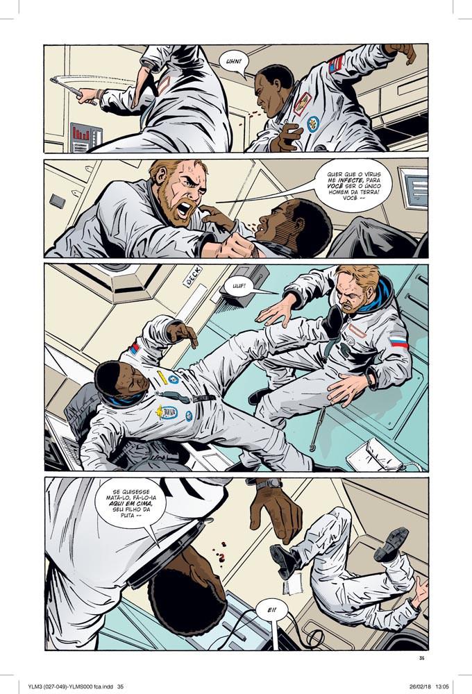 Y: O Último Homem Vol. 3 - Um Pequeno Passo