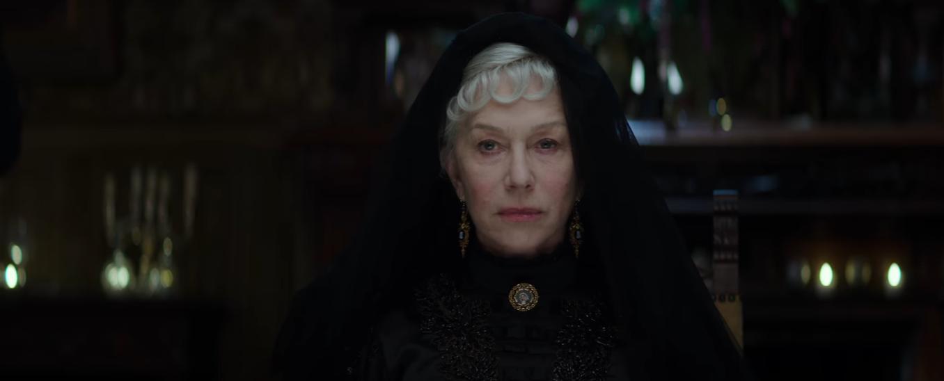 Helen Mirren em A Maldição da Casa Winchester