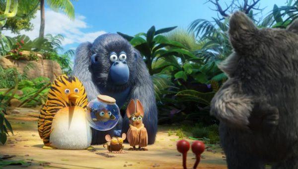 Maurice e os seus amigos salvam a selva do terrível Igor