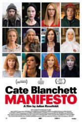 Manifesto (2018), Cate Blanchett interpreta 12 personagens diferentes.