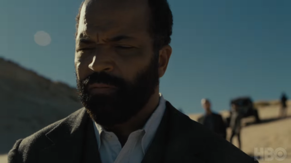 Bernard (Jeffrey Wright) de Westworld