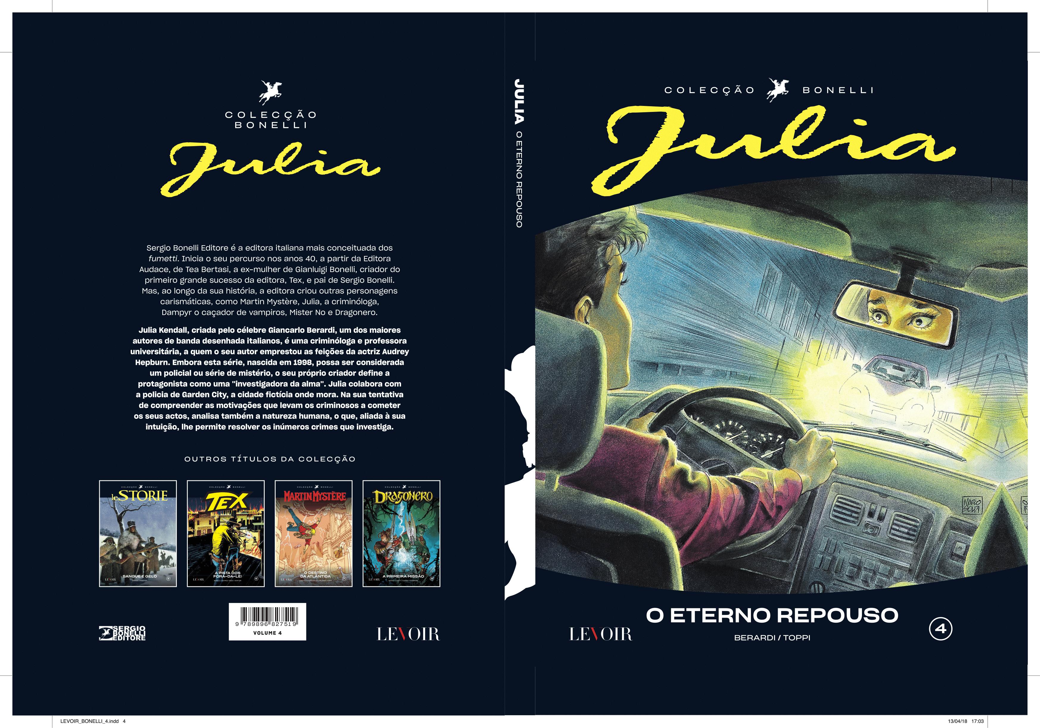 Julia, O Eterno Repouso