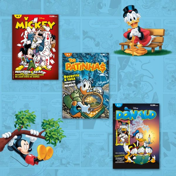 novas revistas disney