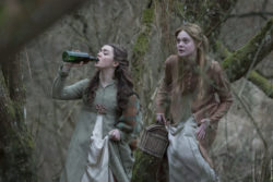 Elle Fanning e Maisie Williams Mary Shelley