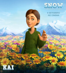 """Kai em """"SNOW O ESPELHO DA RAINHA""""O ESPELHO DA RAINHA"""""""