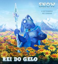 """Rei do Gelo em """"SNOW O ESPELHO DA RAINHA"""""""