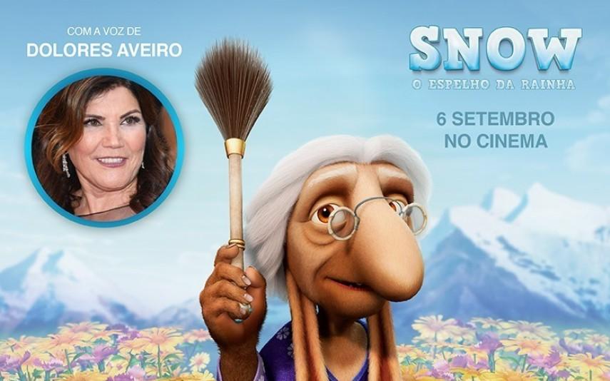 """Dolores Aveiro EM """"SNOW O ESPELHO DA RAINHA"""""""