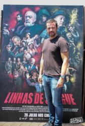 Pedro Laginha é Arquimedes em 'Linhas de Sangue'