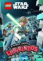 Capa Lego Star Wars Livro dos Labirintos