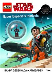 Capa Lego Star Wars Naves Espaciais Incriveis