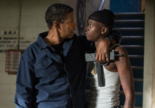 Denzel Washington e Ashton Sanders em The Equalizer 2 - A Vingança