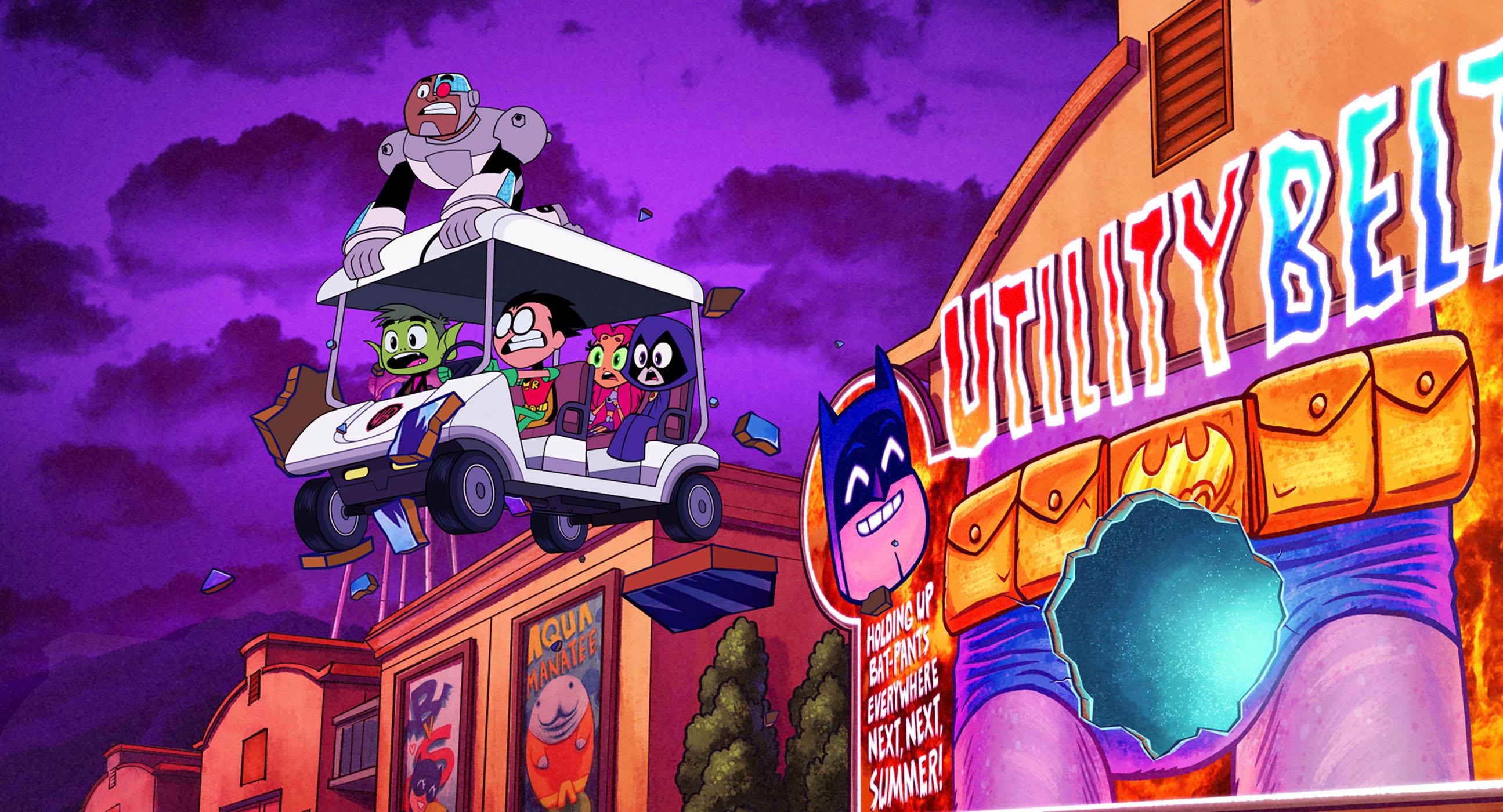 Teen Titans Go! O Filme