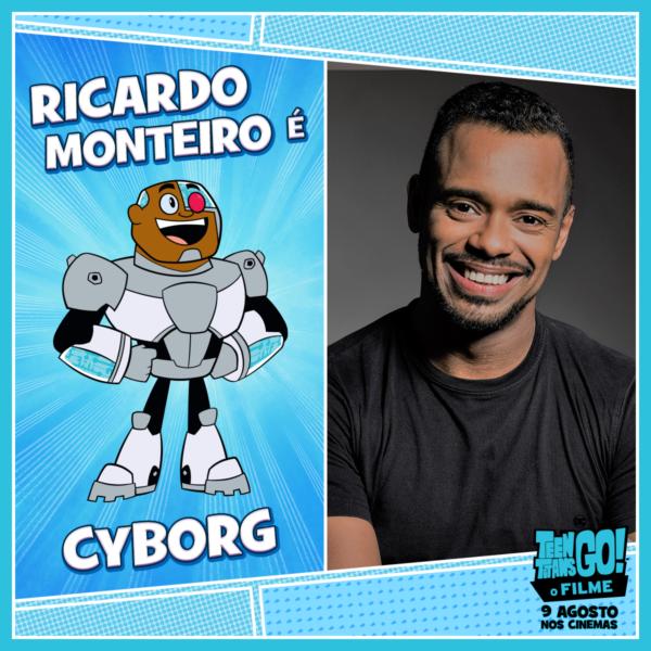 Teen Titans Go! O Filme Ricardo Monteiro Cyborg