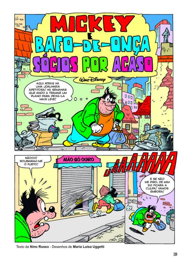 MICKEY E BAFO-DE-ONÇA SÓCIOS POR ACASO