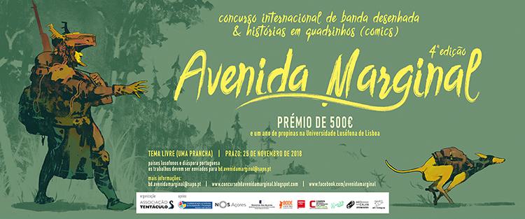 4ª Edição Concurso Banda Desenhada - Avenida Marginal