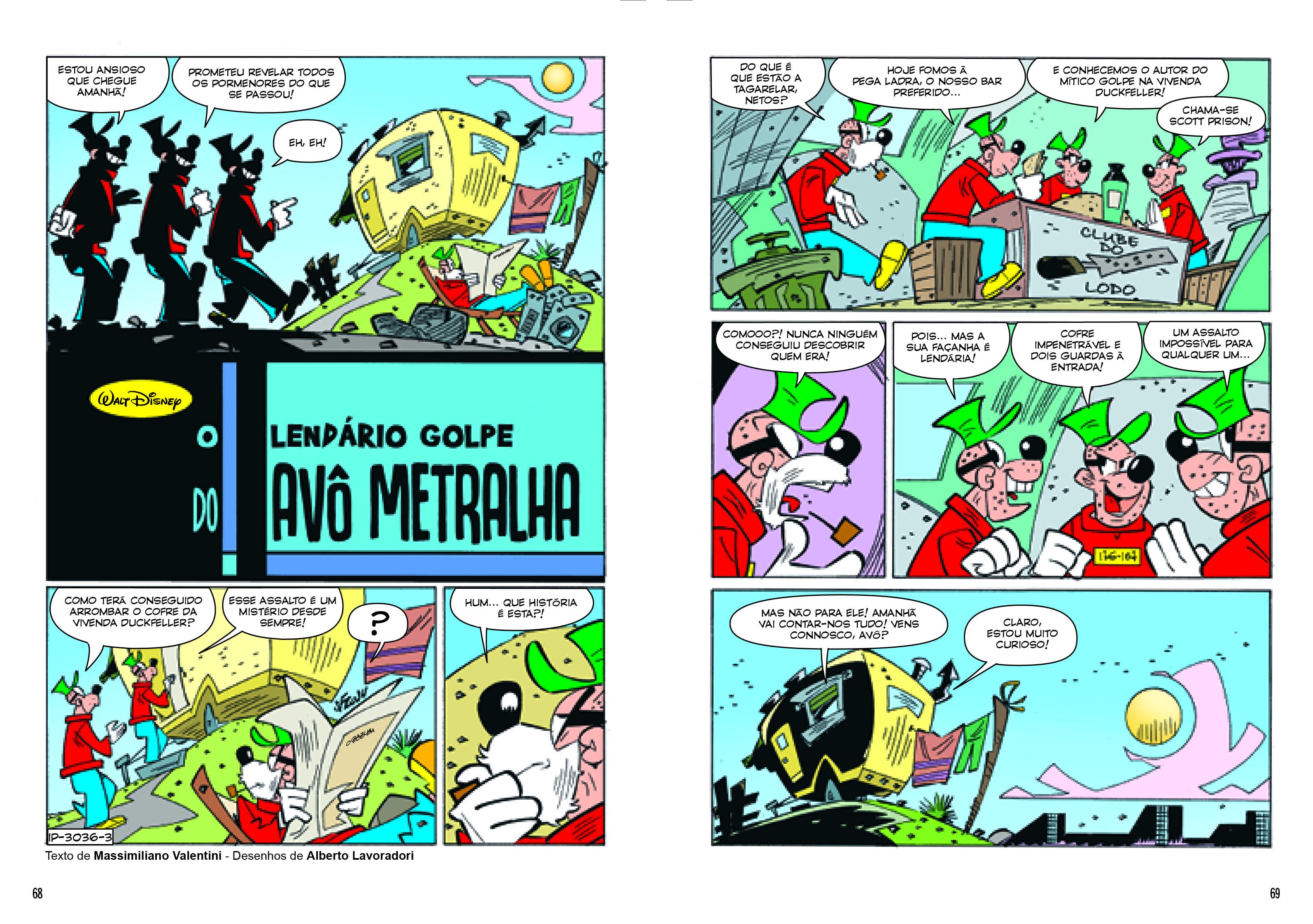 Patinhas 8 O LENDÁRIO GOLPE DO AVÔ METRALHA