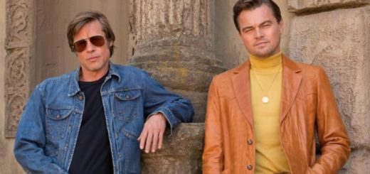 Leonardo DiCaprio Brad Pitt Once upon a time in hollywood