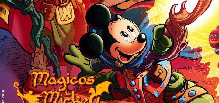Mickey #8 já nas bancas