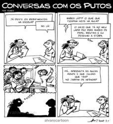 Conversas com os Putos e com os Pais Deles