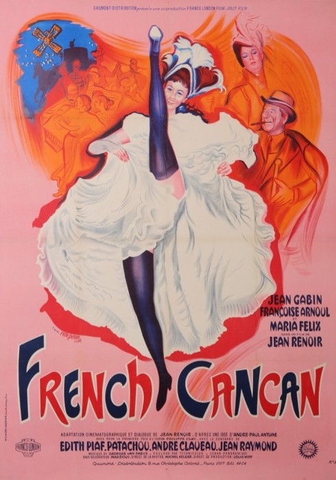 French CanCan (French Can-Can) de Jean Renoir
