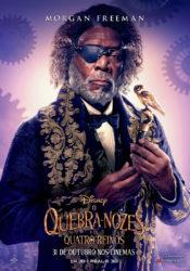 Drosselmeyer Morgan Freeman O Quebra-Nozes e os Quatro Reinos
