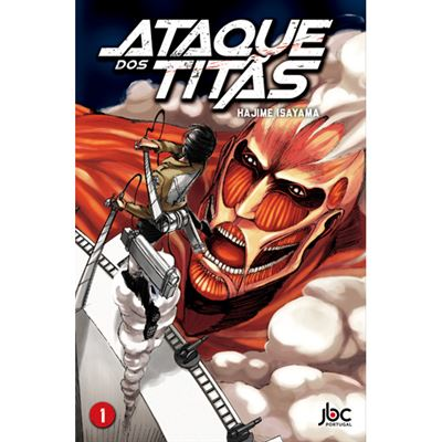 Ataque dos Titãs volume 1, JBC