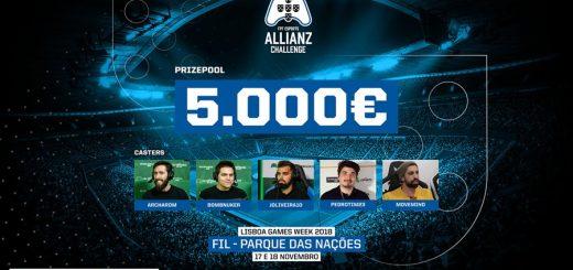 Allianz Challenge na Lisboa Games Week