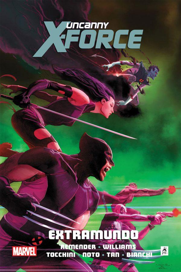 uncanny x-force 3 - extramundo