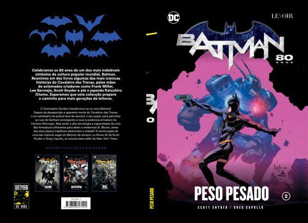 Colecção Batman 80 Anos - Peso Pesado Vol. 2