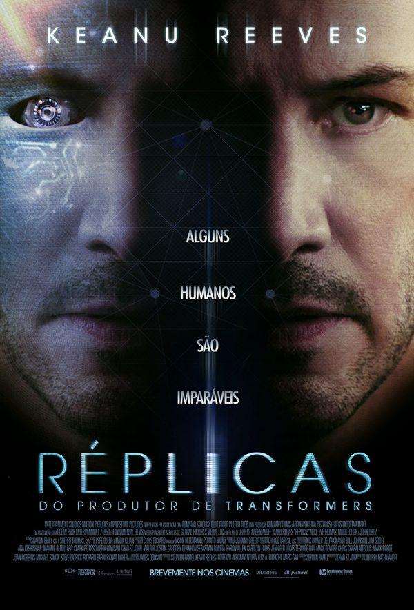 Réplicas, com Keanu Reeves