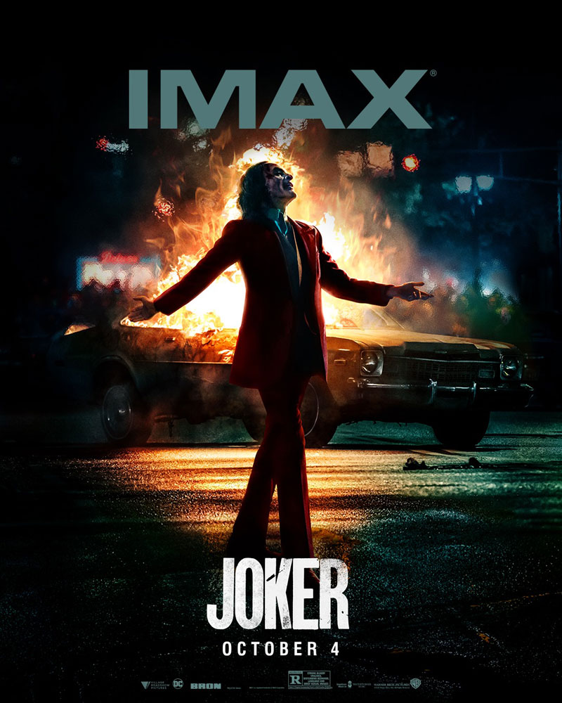 Novo Poster JOKER - Imax
