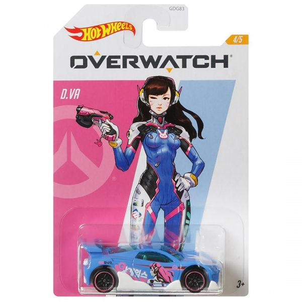 Overwatch Hot Wheels