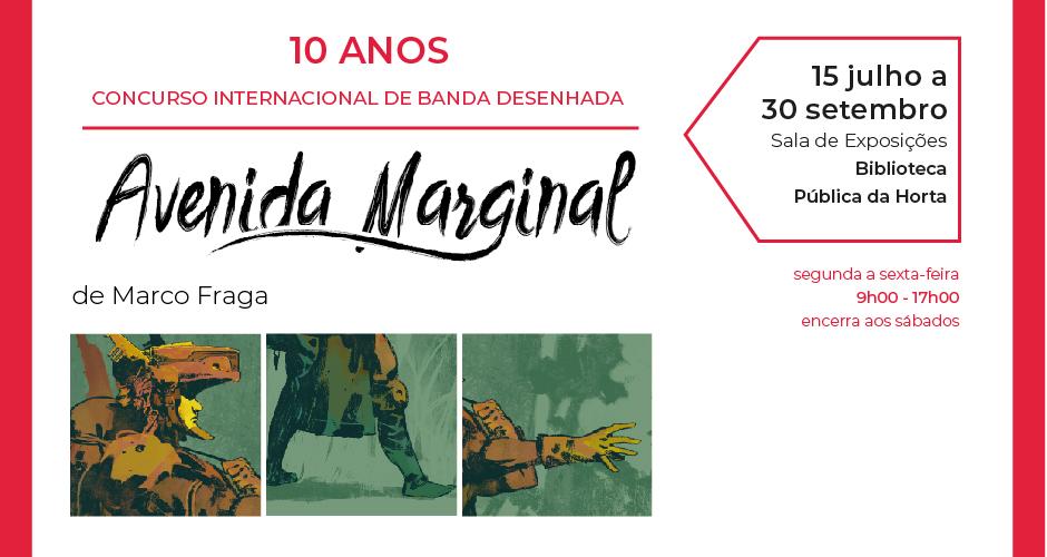 """Exposição """"10 Anos de Avenida Marginal: Concurso Internacional de Banda Desenhada"""""""