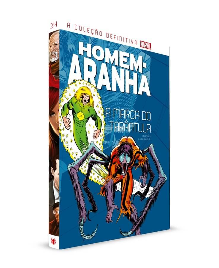 Colecção Definitiva Homem-Aranha 34 - A Marcado do Tarântula