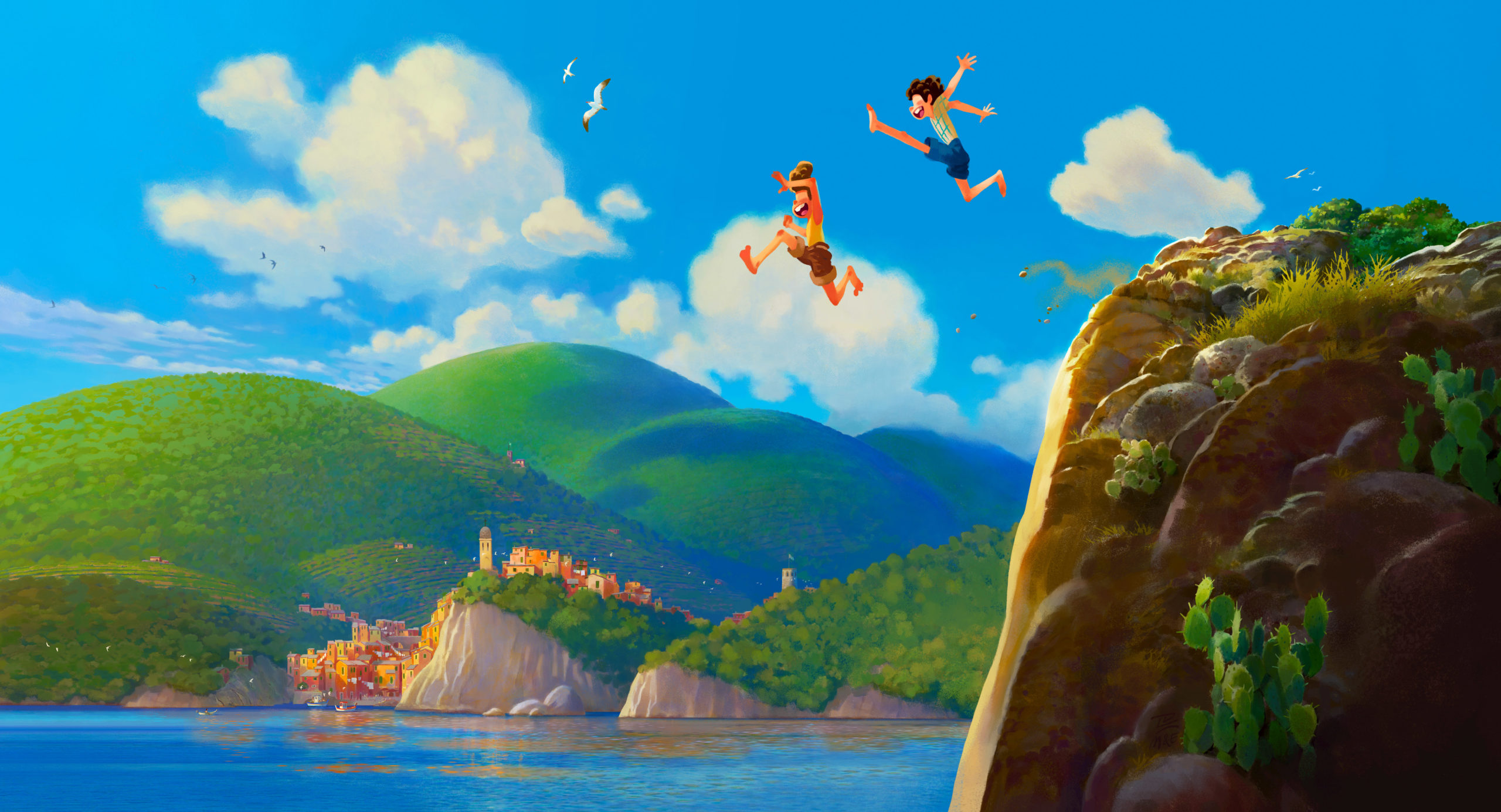 Luca - É o próximo filme original da Disney Pixar!