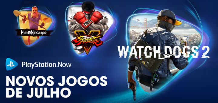 PS Now Julho 2020