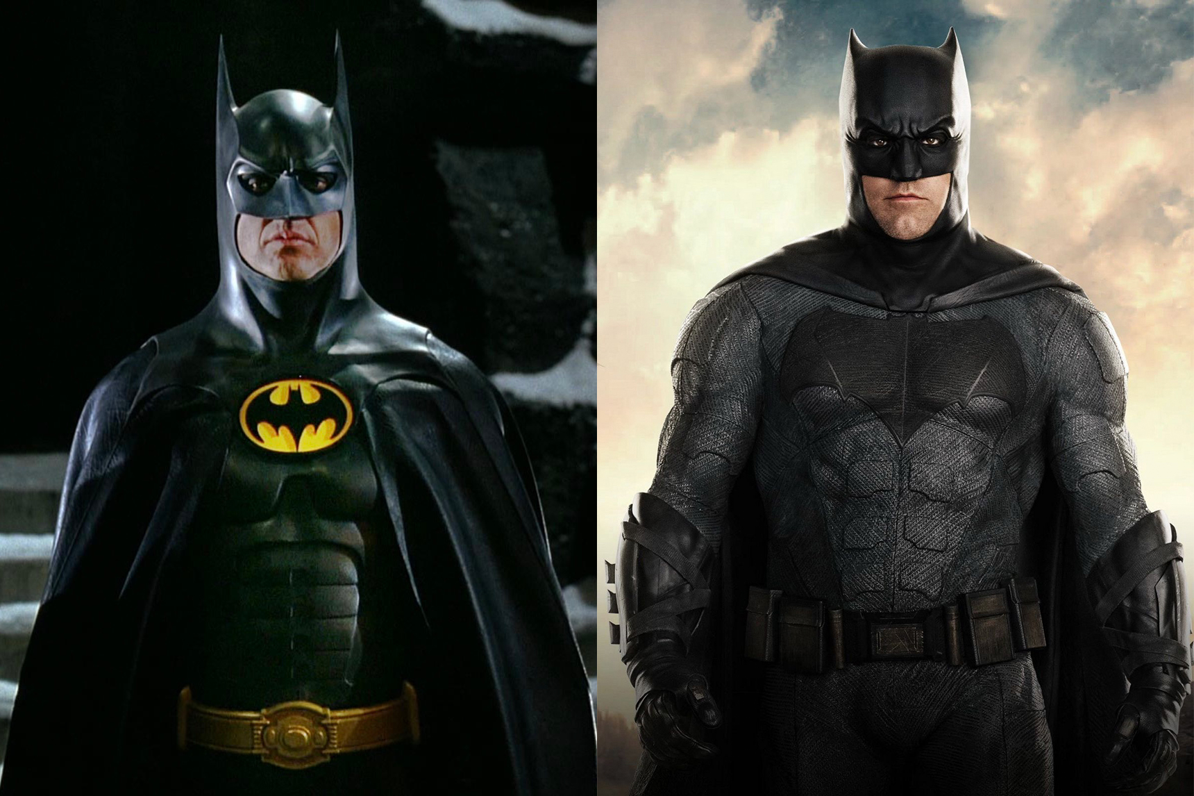 Ben Affleck e Michael Keaton regressam como Batman