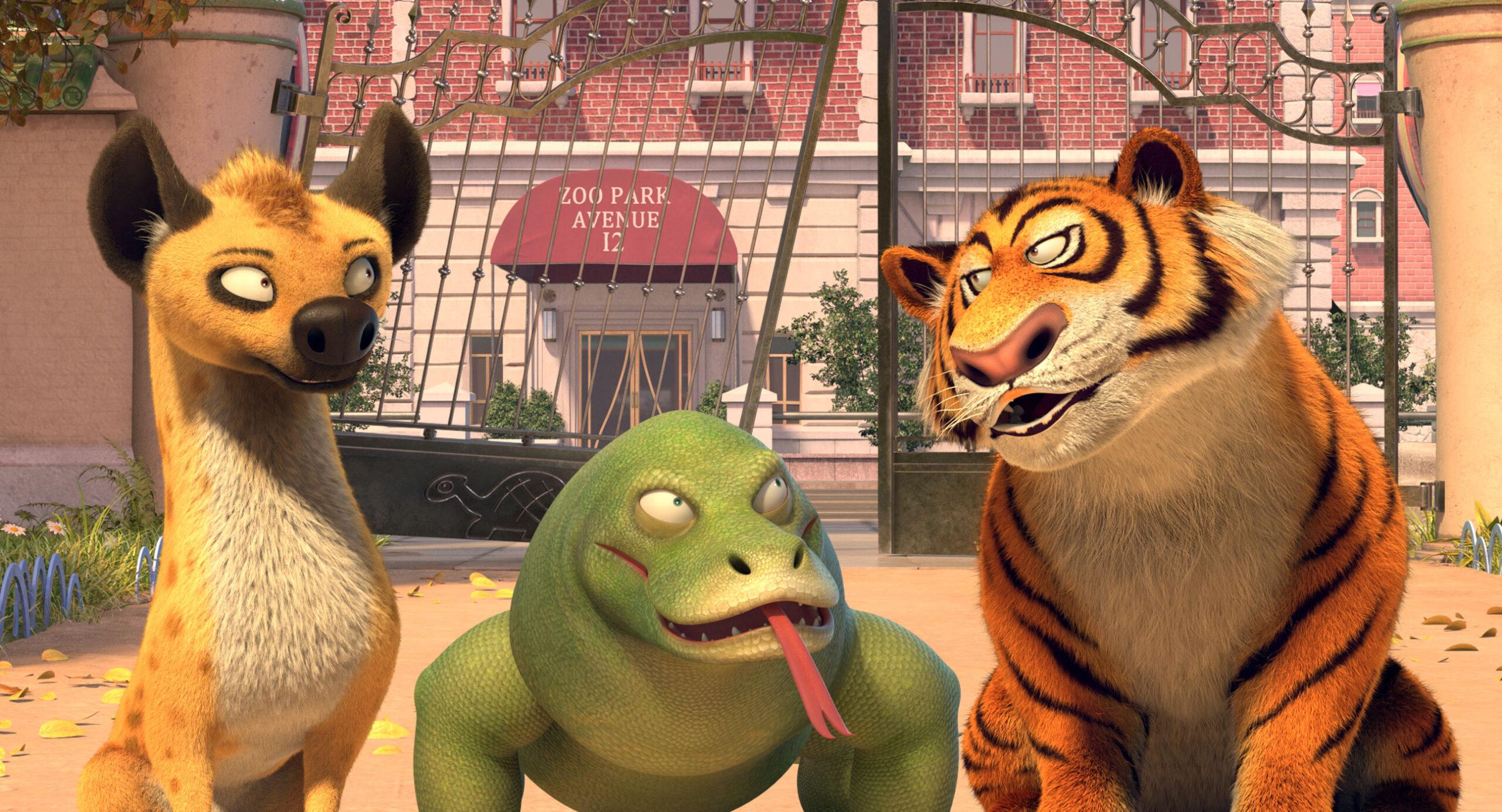 'A Liga dos Animais Fantásticos