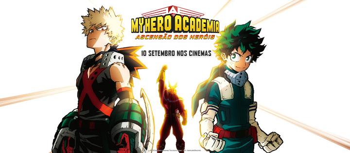 My Hero Academia – A Ascensão dos Heróis