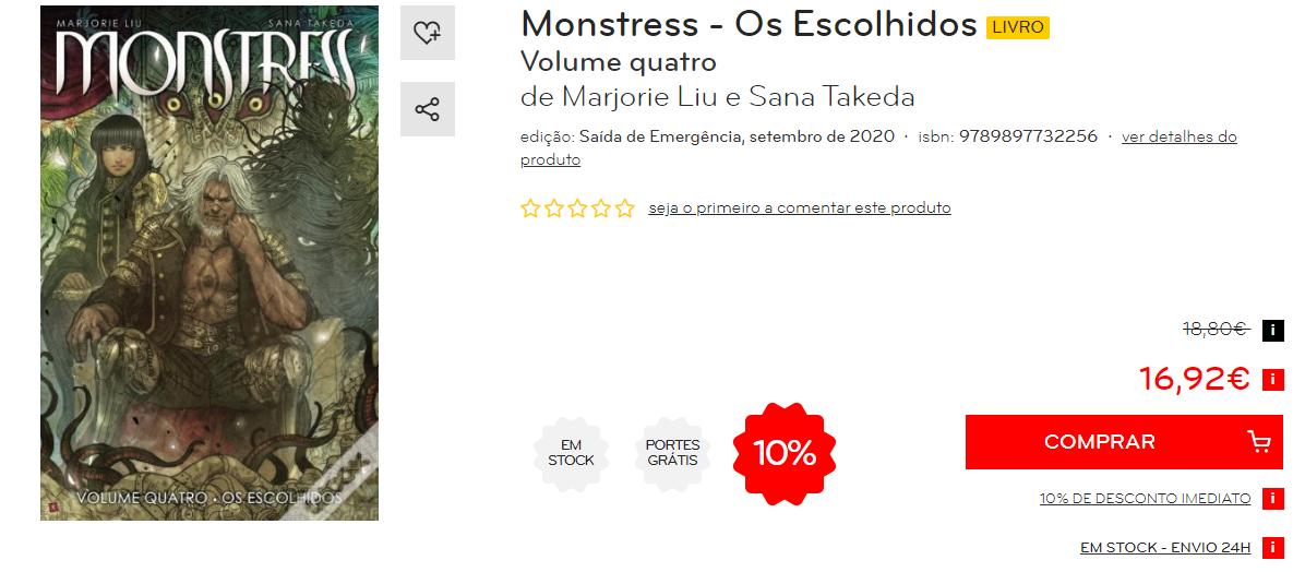 Monstress 8 - os escolhidos